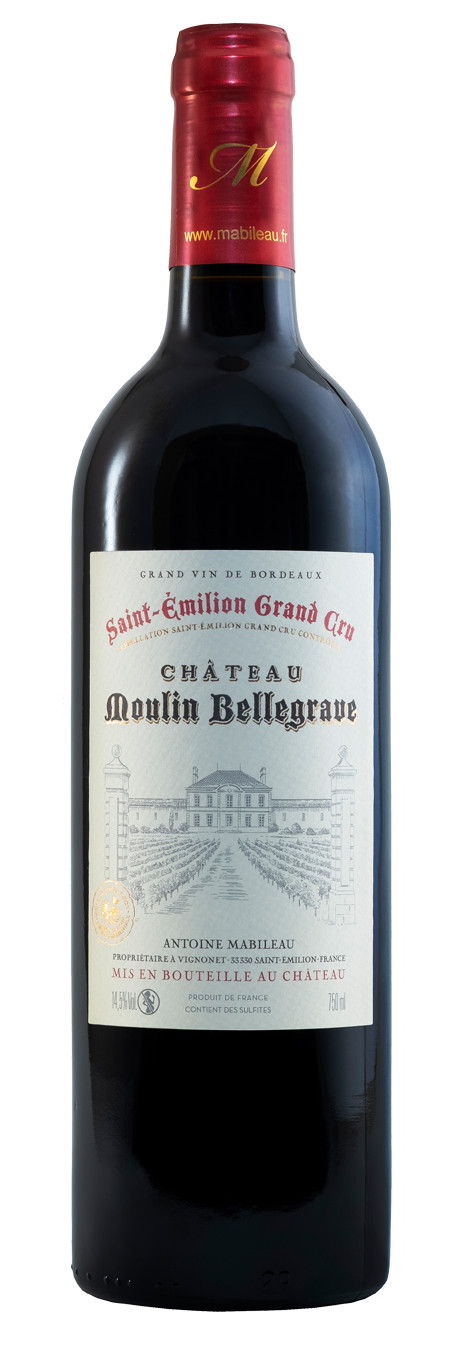 Saint-Emilion Grand Cru - Moulin Bellegrave